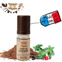 vert-gascogne-tabac-blond-mentholé-menthe-eliquide-e-liquide-macéré-naturel-français (Tabac) - Terroir & Vapeur