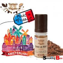 Liquide tabac naturel sans arome, Dans le port liquide tabac blond amsterdam - français - Terroir et vapeur