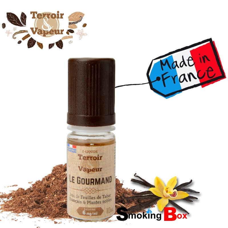 E-liquide Le Gourmand (Tabac) - Terroir & Vapeur