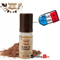 Liquide tabac Blond Garonne, tabac virginie burley - français - Terroir & Vapeur
