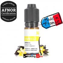 E liquide Vanille Minimal by THE FUU. Un e-liquide à la vanille des îles et contenant des sels de nicotine.
