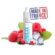 Liquideo e-liquide Freeze framboyz, fruité, framboise, glacé made in france pas cher.