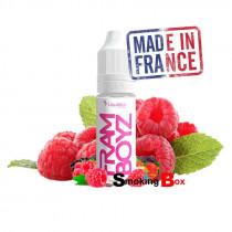 L'e-liquide Framboyz est un nectar fruité irrésistiblement sucré et intensément parfumé à la framboise.