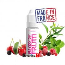 E-liquide bloody frutti - liquideo made in France - frutti, couli fruits de rouges, fraicheur mentholé,  liquideo pas cher.