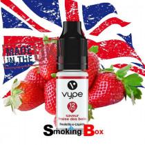 E-liquide saveur fraise, Vype, pour les amateurs de fruits frais bien mûr et juteux.