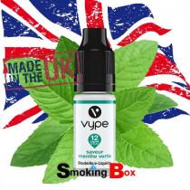 E-liquide saveur menthe fraiche, Vype, pour les amateurs de fraîcheur intense.