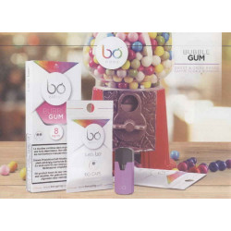 Bo Caps (capsule pré-remplie) bublle gum au chewing-gum de votre enfance sans les bulles.