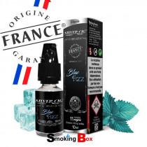 Liquide et arome Blue Fizz à la menthe pétillante pour une vape ultra frais - silver cig - Fabrication Origine France Garantie