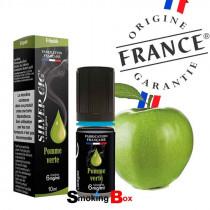 Liquide et arome pomme verte granny smith acidulé croquante - silver cig - Fabrication Origine France Garantie