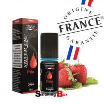 liquide et arome fraise - silvercig - origine france garantie - pas cher - buraliste