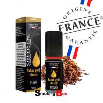 liquide et arome tabac gold classic - silvercig - origine france garantie - pas cher