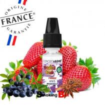 E-liquide et arome fraise, myrtille, anis - Tropical fresh conceptarome - pas cher - made in france. Buraliste