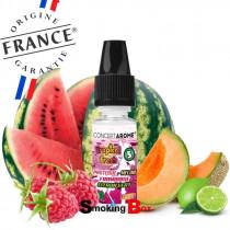 E-liquide et arome pastèque, melon, framboise, citron vert - Tropical fresh conceptarome - pas cher - bio