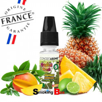 Liquide et arome ananas, mangue, citron vert, Tropical Fresh - conceptarome - pas cher - France