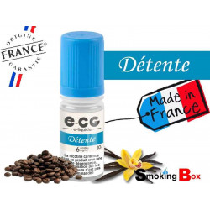 E-liquide DÉTENTE - SIGNATURE E-CG - Café  crème  vanille