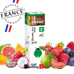 E-LIQUIDE STICKER - STREET ART - Fruits rouges| agrumes| fruits exotiques - concept arome