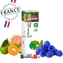 E-liquide King, saveur mélange de fruité, notes framboise bleue - Street Art by Conceptarome - Liquide pour cigarette pas cher.