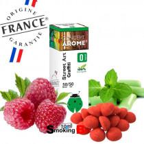 E-liquide Eisenhower au saveur framboise, fraise bonbon et chewing-gum menthe. E-liquide Francais pas cher.