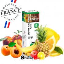 E-liquide Crew au saveur de cocktail de fruits jaunes douce et acidulé. Fabriqué en France à Niort.