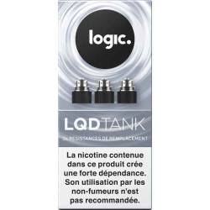 Résistance LQD Tank - Logic Pro - clearomiseur réservoir