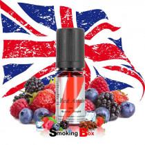 Red Astaire e-liquide uk, anglais, pour le petit vapoteur du buraliste en flacon rouge. Pas cher.