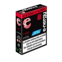 Cartouche T-RED E-nergy vape Tabac Américain 2 ml pré-remplie (Clearomiseur)