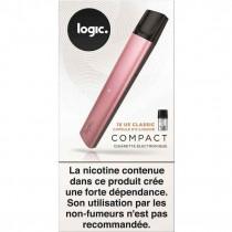 Pod compact logic rose - ecig - cartouche pré-remplie sans fuite et léger et pas cher.
