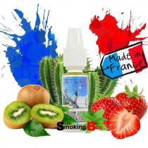 E-liquide jet lag epic bordo2 premium, saveur fraise, kiwi, cactus, menthol. Prix pas cher, chez votre buraliste.