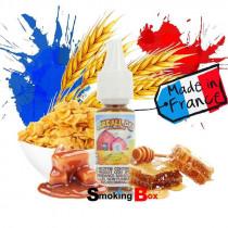 E-liquide cereall day bordo2 premium, cornflakes céréales enrobés de caramel et de miel, prix pas cher chez votre buraliste.