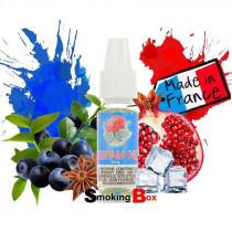 E-liquide dopamine bordo2 premium, saveur Myrtille, grenade anisée, frisson de menthe d'arctique, prix pas cher.
