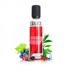 E-liquide Red Astaire UK 50ml - T-juice - Fruits rouges| raisin noir| eucalyptus| anis| menthol