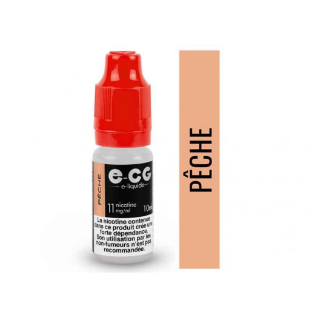 E-liquide PECHE - E-CG VAP