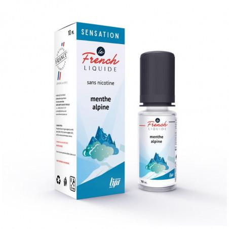 MENTHE ALPINE Le French liquide - menthe glaciale givrée
