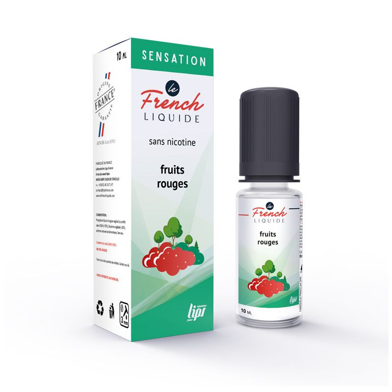 FRUITS ROUGES - TABAC - LE FRENCH LIQUIDE