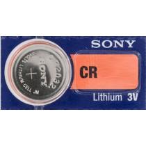 Pile Sony CR pile bouton lithium,à l'unité