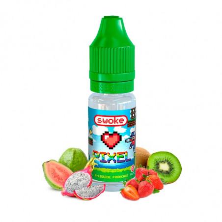 E-LIQUIDE PIXEL - SWOKE - Kiwi goyave fruit de dragon fraise