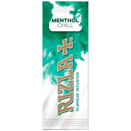 Carte aromatisé menthe rizla pour cigarette et tabac à rouler.