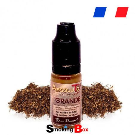 E liquide El Grande Absoluto - E-liquide macéré au feuille de tabac