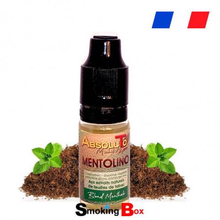 E liquide Mentolino Absoluto - tabac mentholé macéré aux feuilles de tabac traditionnel