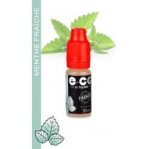 E-liquide MENTHE FRAICHE E-CG VAP
