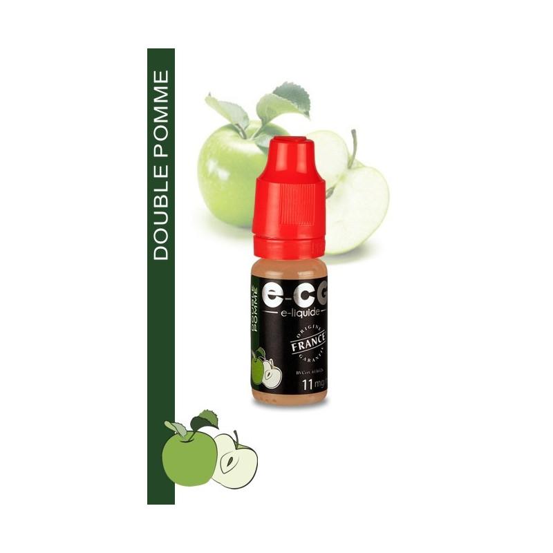 E-liquide OCB VAP E-CG GOUT DOUBLE POMME