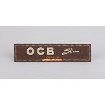 Papier OCB slim Virgin non blanchi de 32 feuilles à rouler