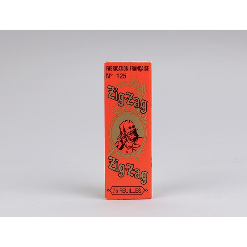 Papier Zig Zag 125 orange