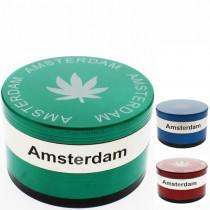Grinder métal Amsterdam - 4 pièces - Ø75 mm