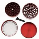 Grinder alu métalique- 4 parties - Ø50 mm