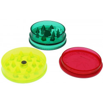Grinder plastique coloré - 3 parties - Ø40 mm