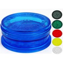 Grinder plastique magnétique  - 3 parties - Ø60 mm