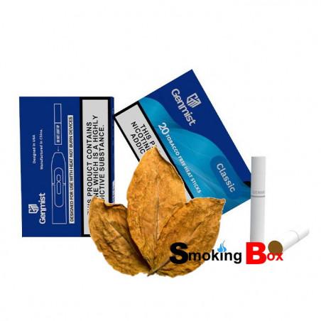 Classic (saveur tabac) Genmist stick heets aux herbes (HNB) 2% nicotine sans tabac - compatible iqos