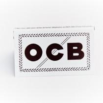 Carnet de 100 feuilles à rouler OCB blanc regular double premium