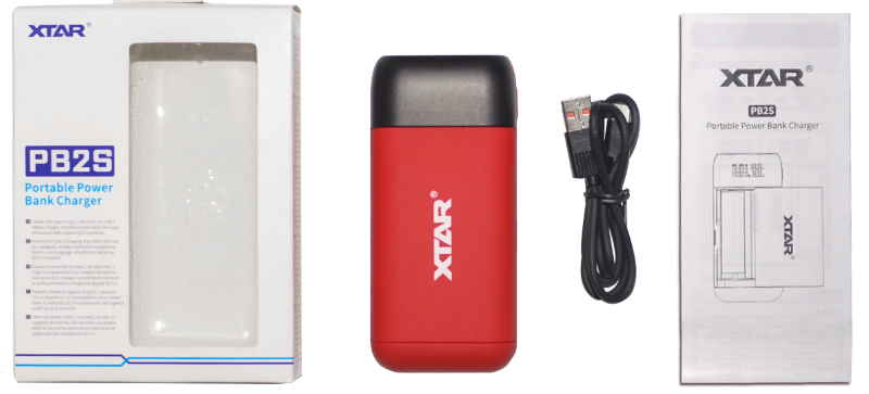 Pack chargeur xtar pb2s double accus